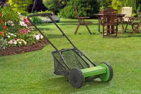 Groupon Goods Global GmbH - Garden Gear Push Lawn Mower - Save 62%