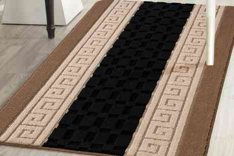 Groupon Goods Global GmbH - Machine Washable Non Slip Gel Back Entrance Mat in Six Colours - Save 75%