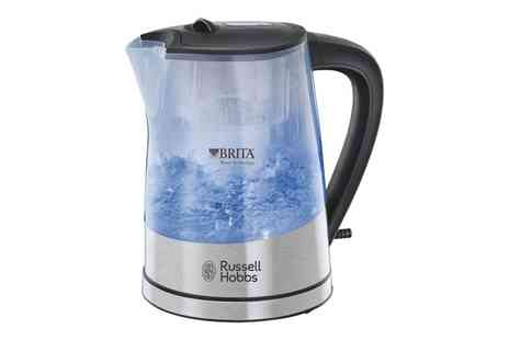 Groupon Goods Global GmbH - Russell Hobbs Purity Brita Filter Kettle - Save 53%
