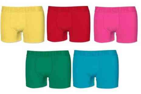 Groupon Goods Global GmbH - Five Pack of Freegun Boxer Shorts - Save 0%