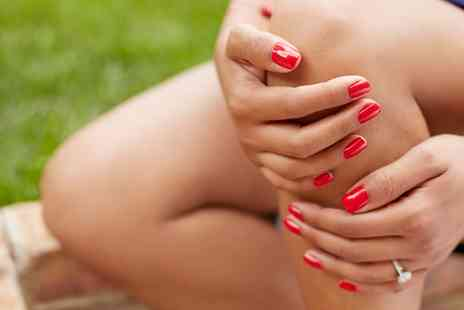 Luxe Leicester - Gel Polish on Fingers or Toes or Both - Save 45%