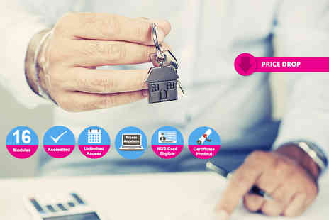 New Skills Academy - Online estate agent course - Save 94%
