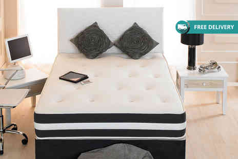 Midnight Dreams - Small single, single or double or small double or king size memory sprung mattress plus Delivery is Included - Save 80%