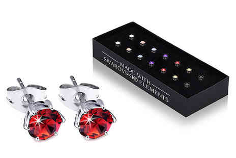 Lily Spencer - Set of seven earrings - Save 91%