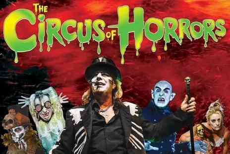 The Circus of Horrors - Ticket to Circus of Horrors Voodoo choose from four locations - Save 50%