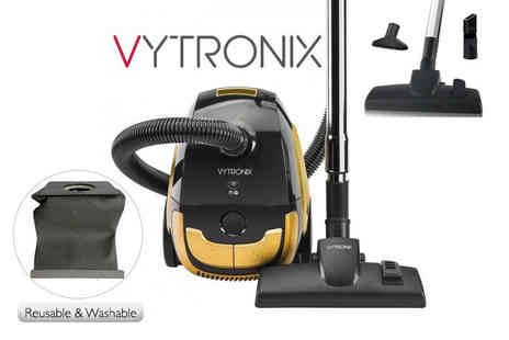Direct Vacuums - Vytronix 800W bagged cyclone vacuum - Save 59%