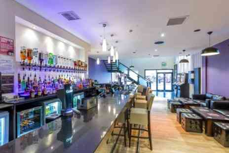 The Lounge Bar And Kitchen - Two Course Meal and Drink or Wine for Two or Four - Save 67%