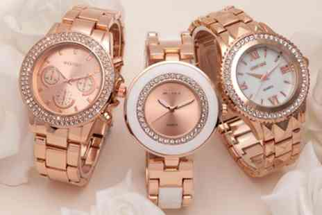 Neverland Sales - Mestige Womens Watches with Crystals from Swarovski With Free Delivery - Save 79%