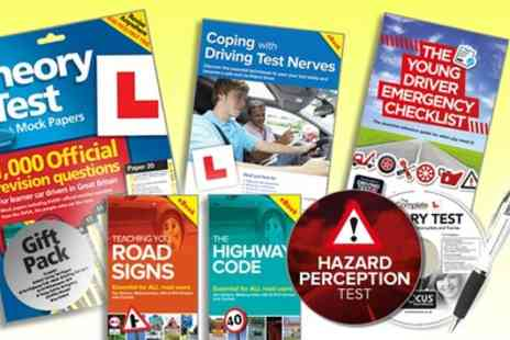 Groupon Goods Global GmbH - The Learner Driver Gift Pack Theory Test Papers and Driving Test PC or DVD - Save 81%