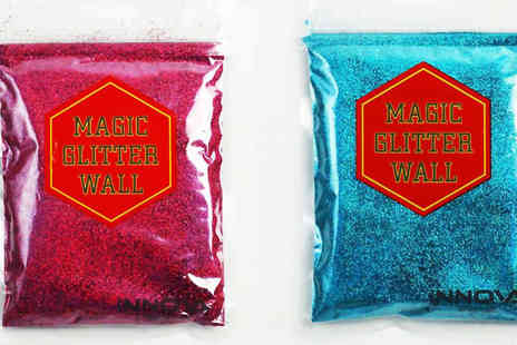 Innova Brands - Magic Wall Paint Glitter Available in 9 Colours - Save 65%