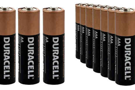 Mini Luxuries - Duracell AAA Batteries Choose Pack of 12, 24 or 40 - Save 60%