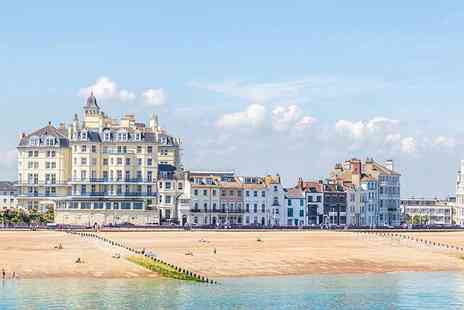 Afton Hotel - One or two night Eastbourne stay for two with breakfast and a welcome drink - Save 43%