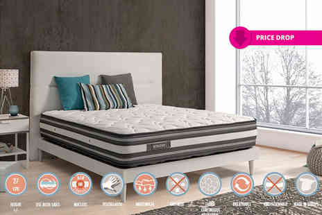 Zeng - Single, double, king or super king size sensation Visco luxury mattress - Save 75%