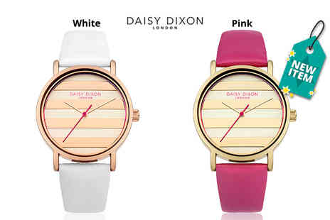 Deals Direct - Ladies Daisy Dixon Poppy leather watch - Save 46%