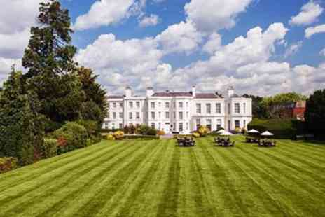 Burnham Beeches Hotel - Two night Georgian manor stay with dinner & wine - Save 0%