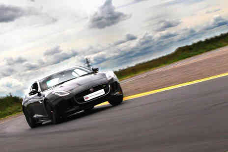 Supercar Test Drives - Three or six lap Jaguar F TYPE R driving experience - Save 0%