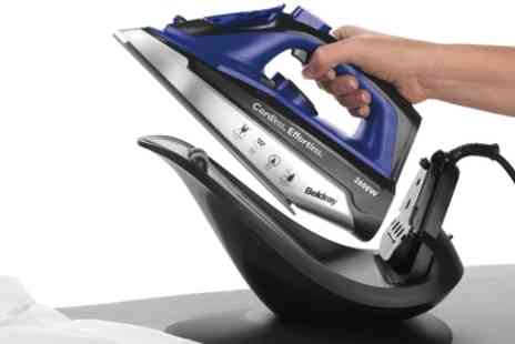 Groupon Goods Global GmbH - Beldray BEL0747 2 in 1 Cordless Steam Iron 2000W - Save 60%
