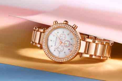 Deal Of Fame - One or Two Timothy Stone Desire Womens Watches with Crystals from Swarovski With Free Delivery - Save 86%