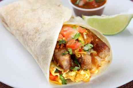 Fez Food - Wrap, Drink and Dessert for Up to Three - Save 37%
