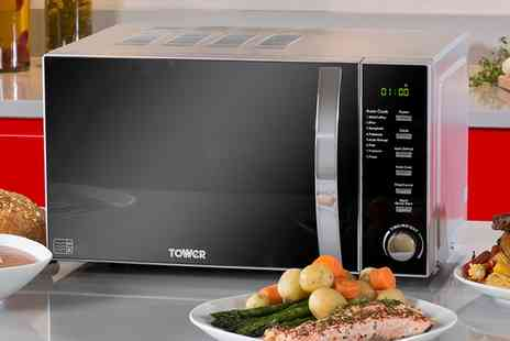 Groupon Goods Global GmbH - Tower 800W Digital Microwave With Free Delivery - Save 0%