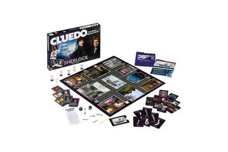 Groupon Goods Global GmbH - Winning Moves Cluedo Sherlock Edition - Save 23%