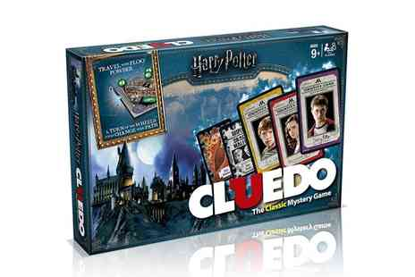 Groupon Goods Global GmbH - Winning Moves Cluedo Harry Potter Edition - Save 10%