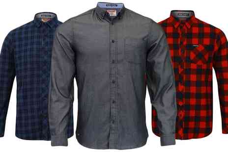Groupon Goods Global GmbH - Tokyo Laundry Mens Shirt in Choice of Design - Save 0%