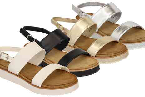 Groupon Goods Global GmbH - Womes CM Sandals in Choice of Colour - Save 0%