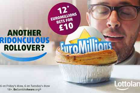 Lottoland - EuroMillions line bets - Save 58%