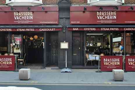 Brasserie Vacherin - Three course prix fixe lunch with a glass of wine and a coffee for one - Save 46%