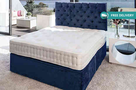 Relaxd - Egyptian cotton & british lambswool 2000 pocket spring mattress - Save 67%