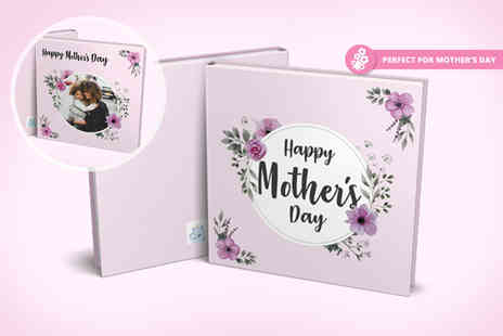 Smiley Hippo - 20 page personalised Mothers Day photobook - Save 75%