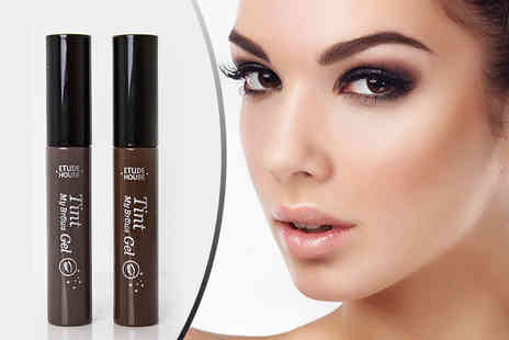 GetGorgeous - Brush on or peel off five day brow tint choose from two shades - Save 76%