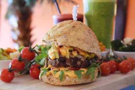LoveFit Cafe - Choice of Burger and Side for Up to Four - Save 41%