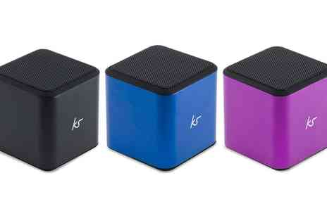 Groupon Goods Global GmbH - Kitsound Cube Wireless Speaker in Choice of Colour - Save 33%