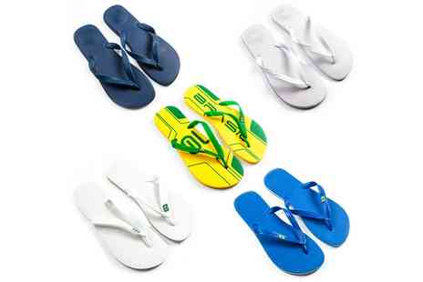 Groupon Goods Global GmbH - Unisex Dupe by Havaiana Flip Flops - Save 50%