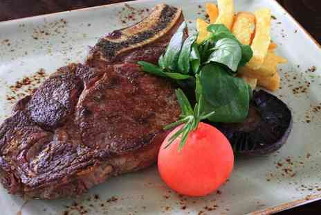 Whitehouse Hotel - Sirloin Steak Meal with a Glass of Wine for Two or Four - Save 33%