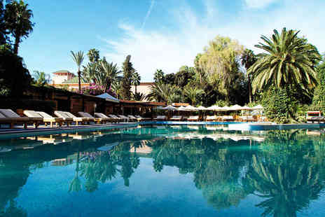 Es Saadi Marrakech Resort Hotel - Five Star Spa Retreat Near Old Town For Two - Save 70%