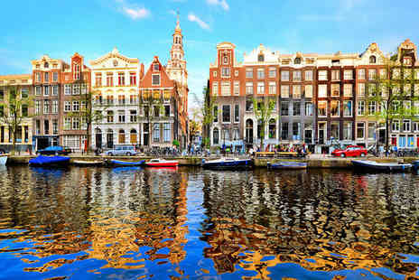 Hotel Movenpick Amsterdam City Centre - Four Star Chic Riverside Stay For Two in Cultural Amsterdam - Save 72%