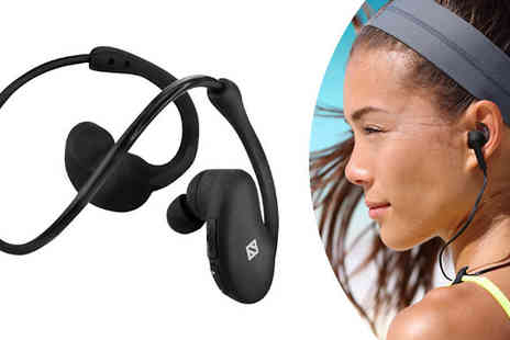 Gadget World Shop - Wireless Sweatproof Ear Buds - Save 45%