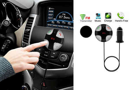 Some More - Bluetooth hands free FM car kit - Save 59%