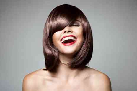 The Glamour Lounge - Haircut and finish with a senior stylist - Save 64%
