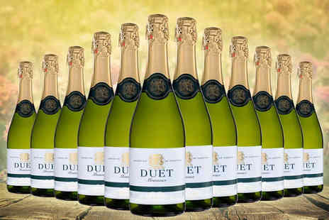 Karpe Deal - 12 bottles of Duet white brut sparkling wine - Save 36%