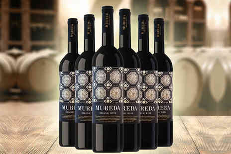 Karpe Deal - Six bottles of Mureda red organic wine plus Delivery is included - Save 20%