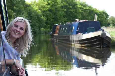 Lancashire Canal Cruises - 90 minute canal cruise for one person with afternoon tea and a glass of bubbly - Save 48%