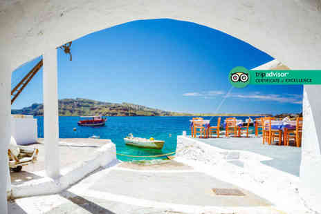 Bargain Late Holidays - Three night Santorini stay with breakfast - Save 32%