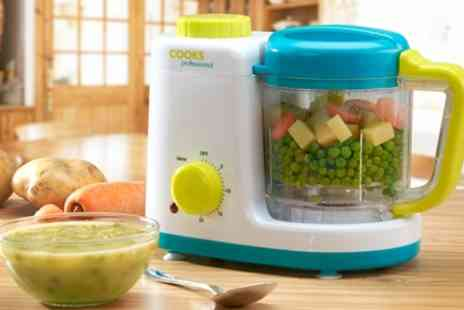 Groupon Goods Global GmbH - Cooks Professional Baby Food Steamer and Blender - Save 49%