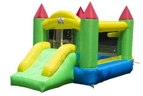 Groupon Goods Global GmbH - Kids Inflatable Bouncy Castle With Free Delivery - Save 9%