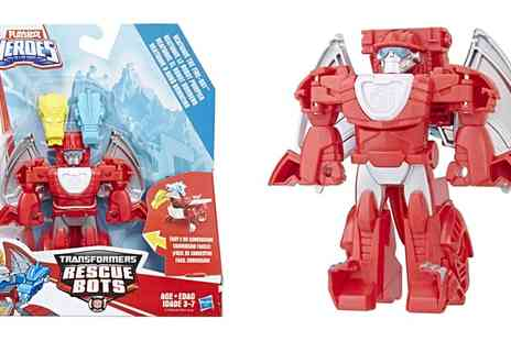Groupon Goods Global GmbH - Hasbro Transformers Heatwave The Rescue Fire Bot - Save 27%