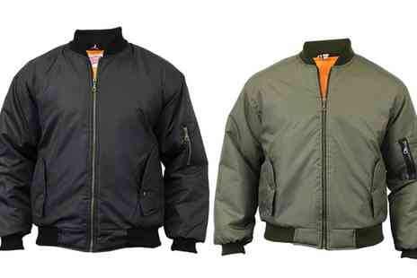Groupon Goods Global GmbH - Mens MA1 Padded Jacket - Save 0%